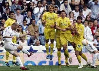 Los 10 mejores goles de falta en la carrera de Zidane