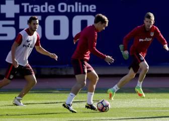 Simeone dejará fuera a Saúl en el partido frente al Depor
