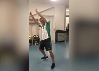 Joaquín es el más grande: ojo a como se lo parte bailando