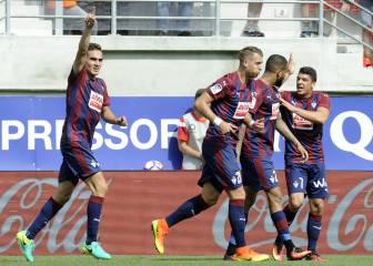 El Eibar se lleva por delante a la Real en el derbi vasco