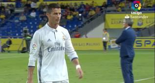 El enfado de Cristiano cuando Zidane le mandó al banquillo