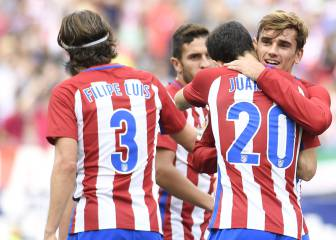 El Atlético cumple ante un Deportivo con 10