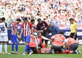 Augusto y Giménez se fueron lesionados ante el Depor