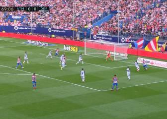 Conexión Gameiro-Griezmann: un gol que vale su peso en oro