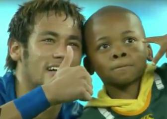 Los gestos más solidarios y emotivos de Neymar