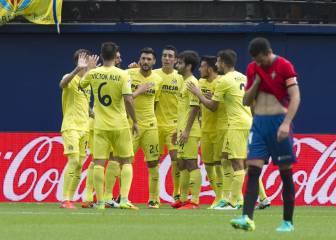 El Villarreal doblega a Osasuna y está en posición Champions
