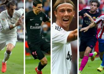 Los 7 jugadores que cambiaron de posición y triunfaron