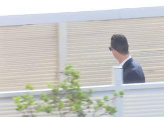 ¿Qué cara llevaba Cristiano en la salida para Dortmund?