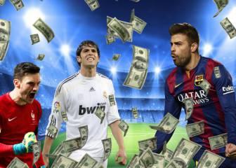 Nacieron bendecidos: los futbolistas que ya eran 'ricos'