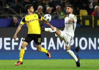 El Madrid no carbura y regala un empate en Dortmund