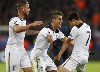 El Tottenham logra un importante triunfo en Moscú