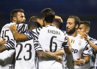 Exhibición de pegada de la Juventus ante el Dinamo