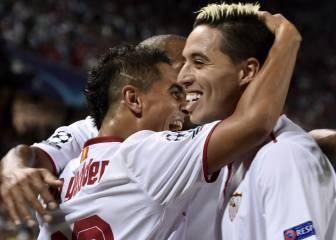 El Sevilla va muy en serio en esta Champions