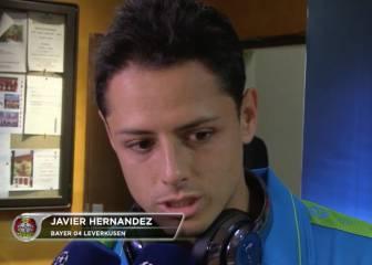 Chicharito hace balance de la Champions tras el empate