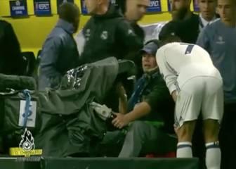 Cristiano pidió a un cámara ver la jugada de su gol anulado