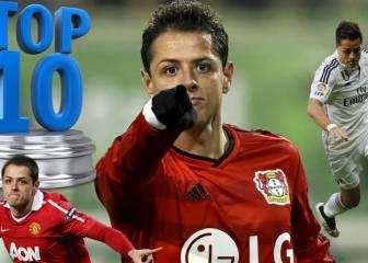 El Top-10 de los 100 goles de Chicharito en Europa