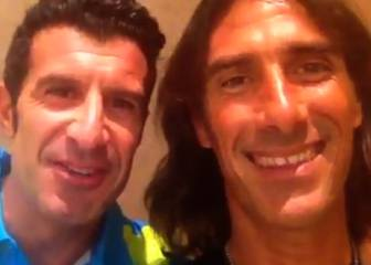 Figo felicita a Totti: