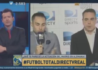 La TV argentina atiza a Zidane: