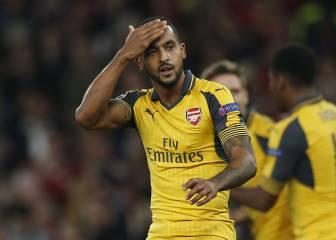 Walcott pone el ritmo de un Arsenal que pudo golear