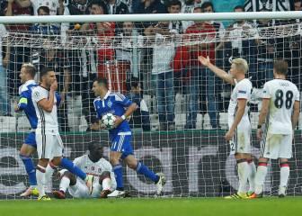 El Besiktas se deja dos puntos tras un error de Fabricio