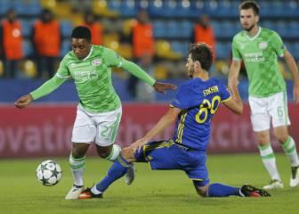 Rostov y PSV empatan y favorecen a Atleti y Bayern