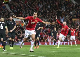Primer triunfo para el United de Mourinho en Europa