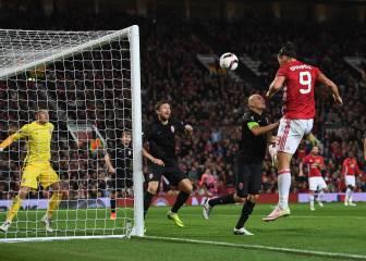 El gol más pillo de Ibra que rescató al United del desastre