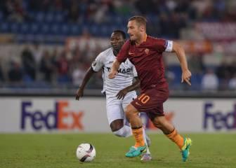 Totti, no te retires nunca: show de pura clase a sus 40 años