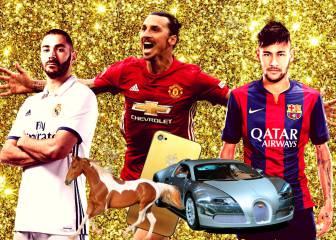 Los locos caprichos de los futbolistas: ¡Qué despilfarro!
