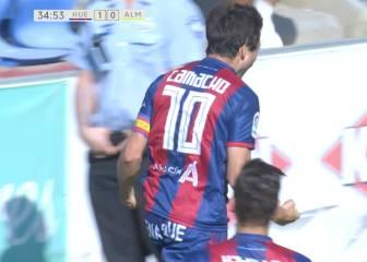 El Huesca se lleva los 3 puntos ante un Almería hundido