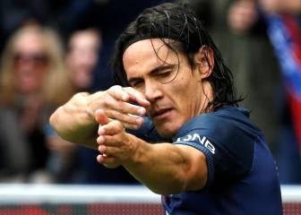Cavani tranquiliza al PSG de Emery ante el Girondins
