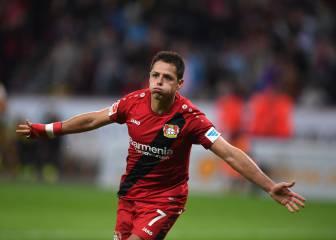 Chicharito sí logró lo que el Madrid no: triturar al Dortmund