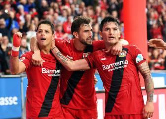 El Dortmund sufre de vértigo en su visita a Leverkusen