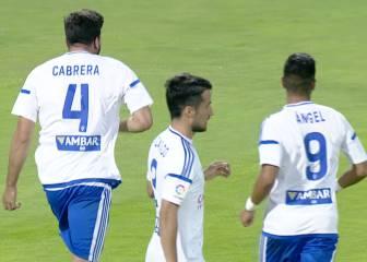 Kieszek y un mal primer tiempo destemplan al Zaragoza