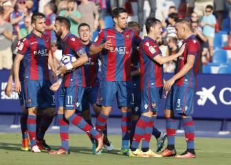 El Levante es más líder y el Valladolid sigue en caída libre