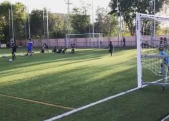 Marcelo se vanagloria del gol de su hijo en Instagram