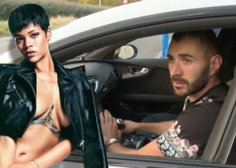 ¿Sigue pensando Benzema en su expareja Rihanna?