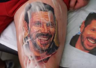 El 'cholismo' no tiene freno: el tatuaje más friki de un hincha