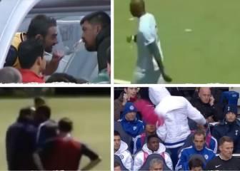 Los 5 gestos más feos de jugadores a sus entrenadores