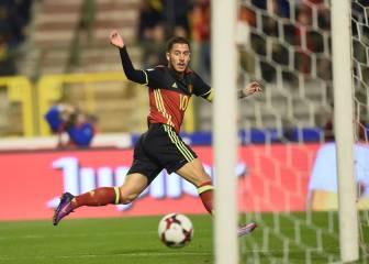 Hazard 'noventero': gol a lo Romario y pase de Laudrup