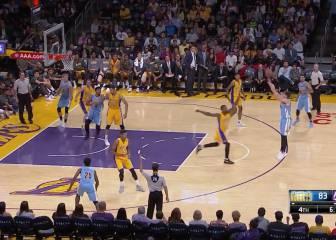 Juancho se sale y es clave en la victoria ante los Lakers