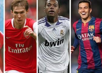 5 jugadores arrepentidos después de cambiar de club