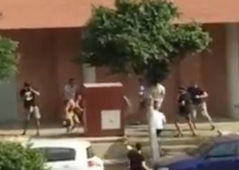 Feroz pelea entre radicales de Almería y Levante en la previa