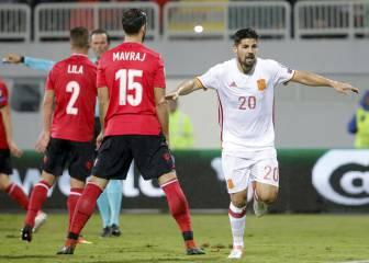 Nolito sigue con su idilio con España: otro gol de pillo
