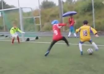 Vean al 'Messi de Palestina': ficha por la Juve con 10 años