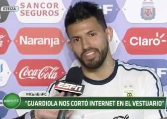 Ojo a lo que dijo Agüero al prohibir Guardiola Internet