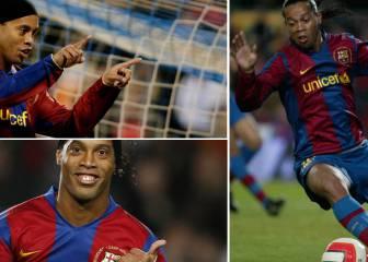 Los gestos técnicos olvidados de Ronaldinho con el Barça