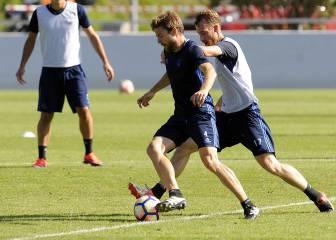 La Real Sociedad hará cambios para el derbi ante el Athletic