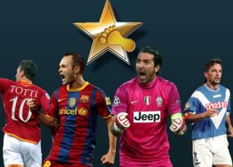 De Baggio a Buffon: todos los ganadores del Golden Foot