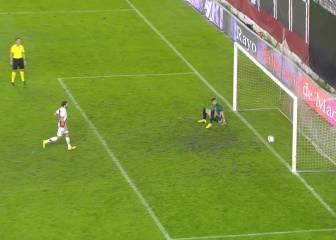 ¿Entró el penalti a lo 'Panenka' de Trashorras? Juzguen...